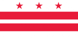 Washington DC flag - USA